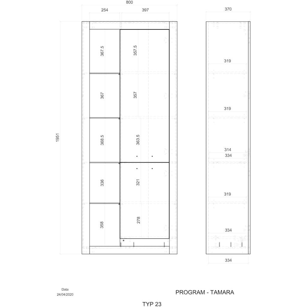 Places of Style Stauraumschrank »TAMARA«, Hochwertige Verarbeitung