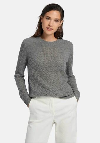 include Strickpullover »Rundhals-Pullover«, mit softer Haptik kaufen