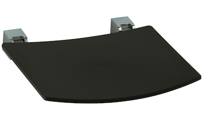 KEUCO Duschklappsitz »Plan«, schwarz - grau kaufen