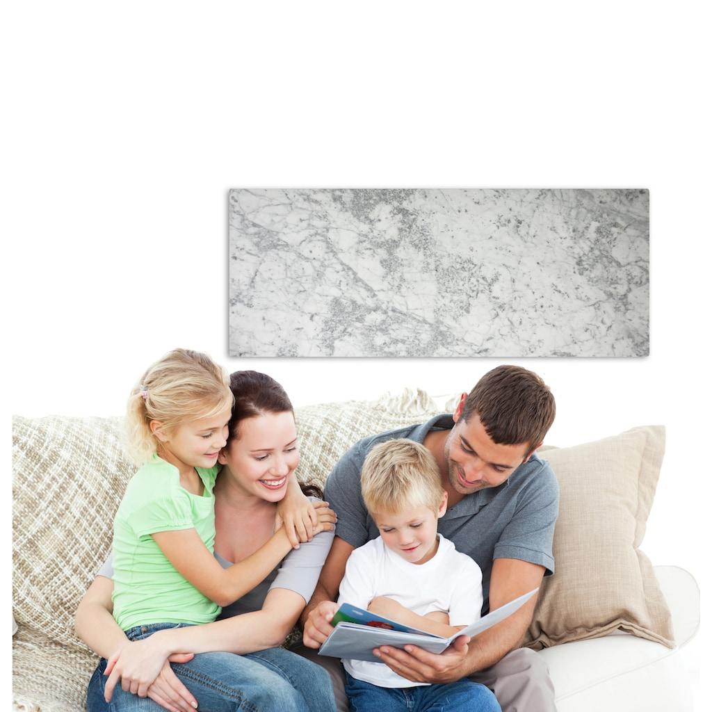 Marmony Infrarotwandheizung »Carrara, 800 Watt«, trocknet Wände und Mauerwerk, aus Carrara-Marmor