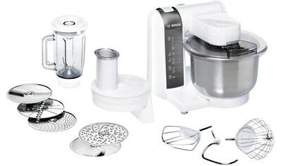 BOSCH Küchenmaschine MUM48120DE, 600 Watt, Schüssel 3,9 Liter kaufen