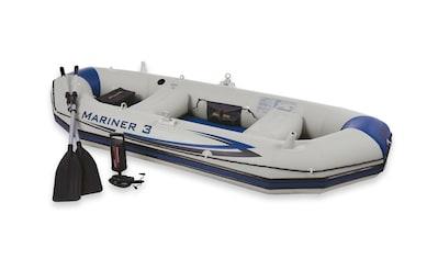 Intex Schlauchboot »Mariner 3«, (Set, mit 2 Paddeln und Luftpumpe) kaufen