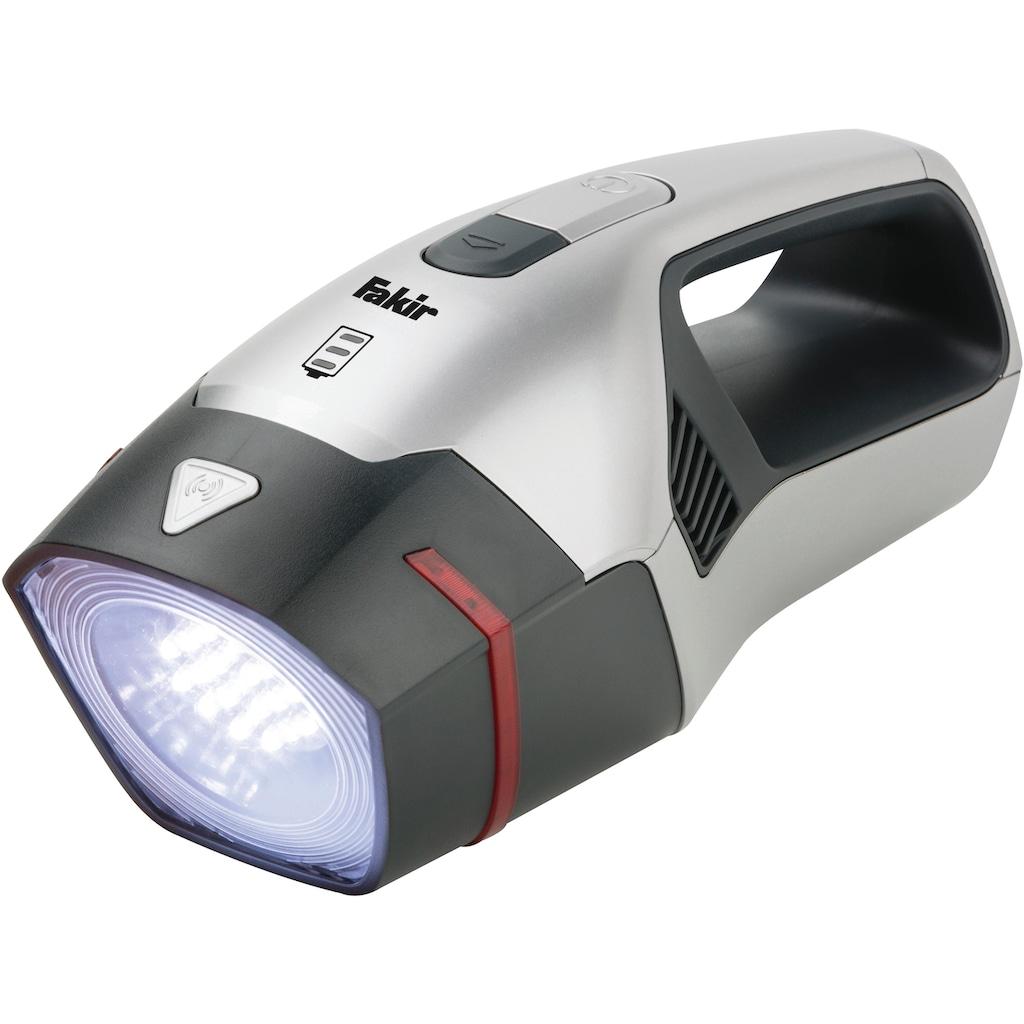 FAKIR Akku-Handstaubsauger »premium AS 1111 All in One«, Power LED-Leuchte mit Notfallblinklicht