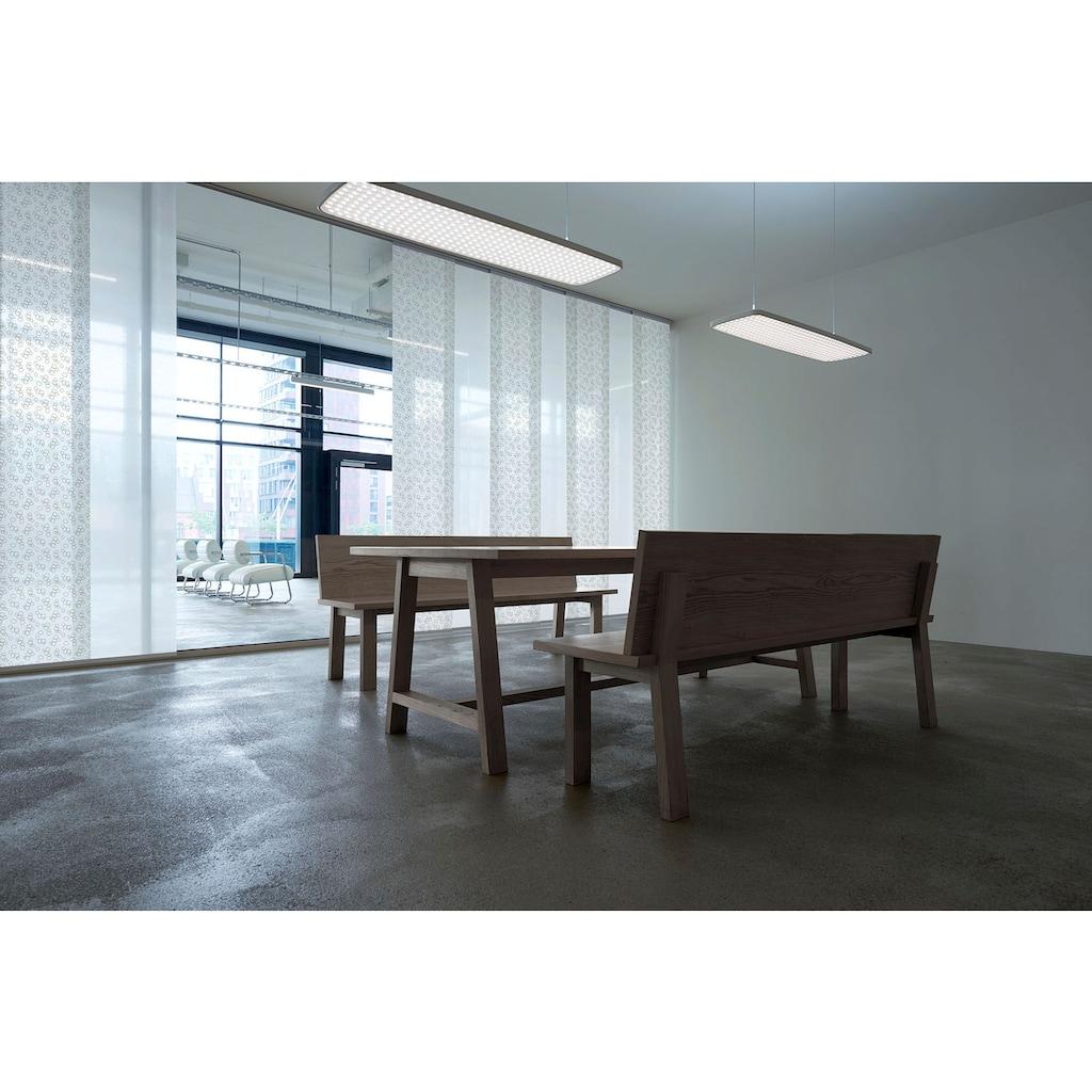GARESA Gardinenschiene »Flächenvorhangschiene Compact Deckenmontage«, 3 läufig-läufig, Wunschmaßlänge