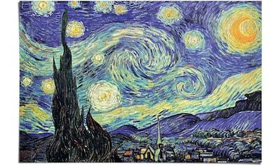 Reinders! Poster »Sternennacht Vincent van Gogh - Kunst - Museum of Modern Art - Alte... kaufen