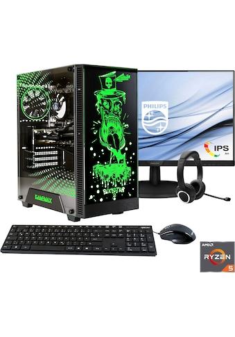 Hyrican Gaming-PC-Komplettsystem »Rockstar SET02075 + Philips 273V7QDSB/00 68,6cm... kaufen