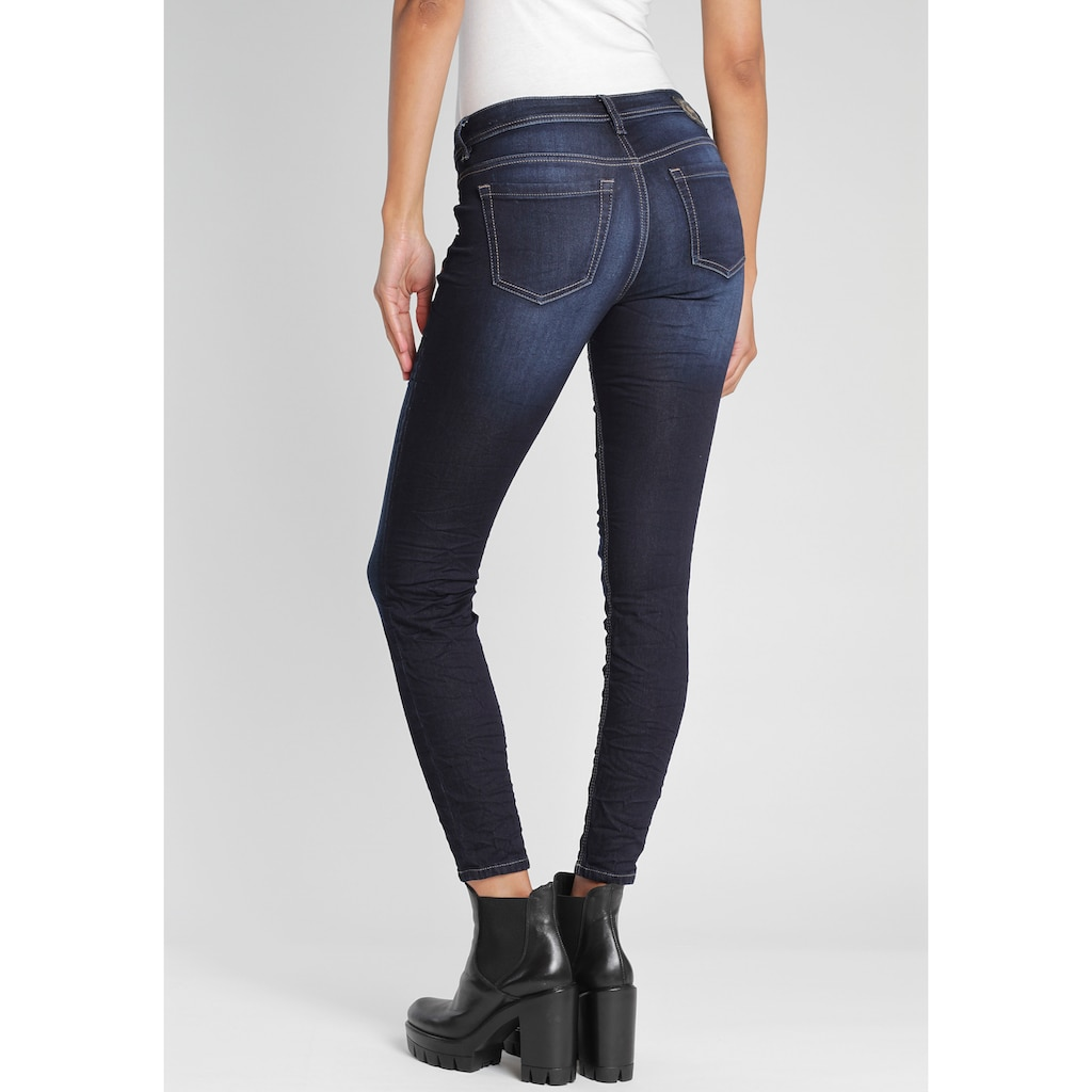 GANG Ankle-Jeans »FAYE«, Cropped Jeans im typischen 5-Pocket Style