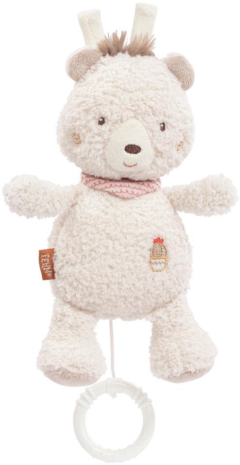 Fehn Spieluhr Peru Bär weiß Kinder Spieluhren Baby Kleinkind