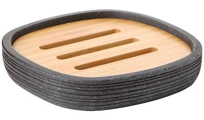 Sanotechnik Seifenschale »BAMBU«, mit herausnehmbarem Holzbrett kaufen