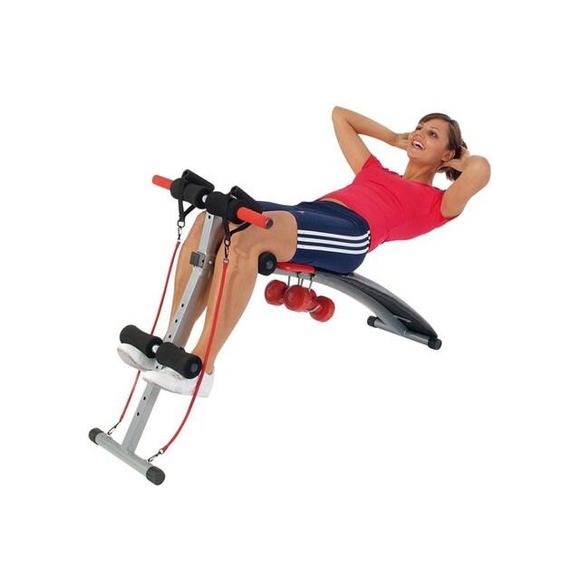 Christopeit Sport® Bauchtrainer »BG 2« (Set, mit Elastikzügen)