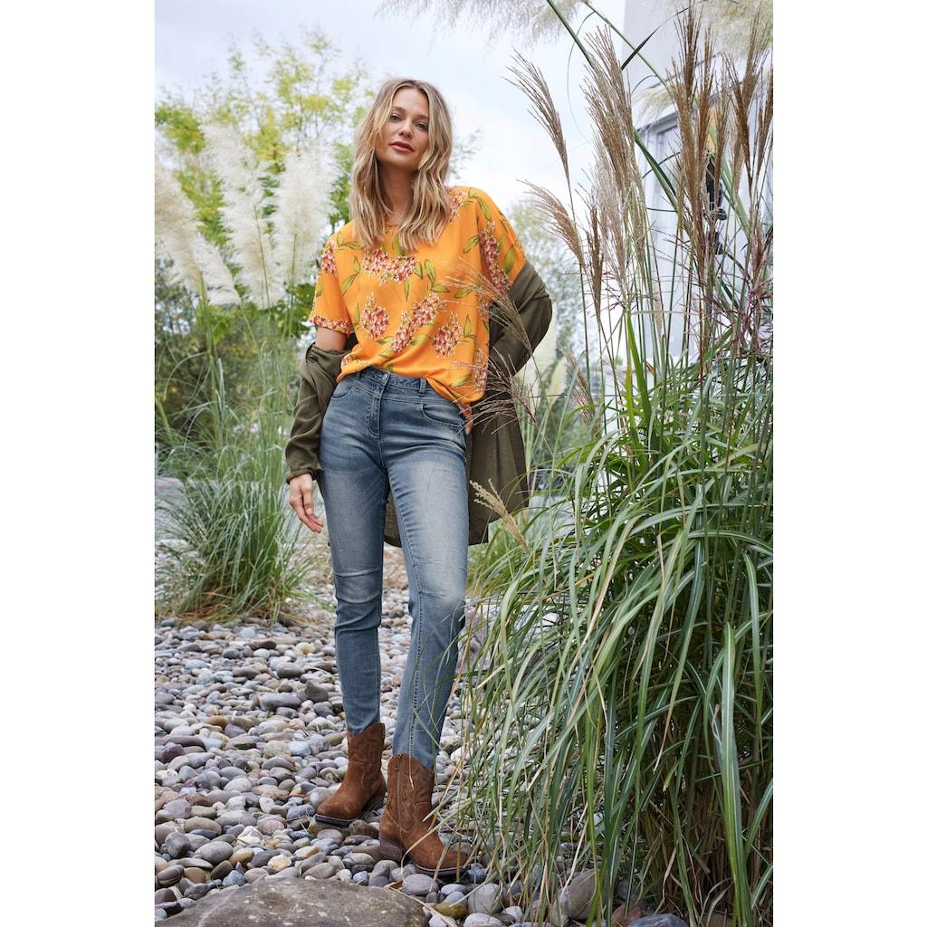 Aniston CASUAL Strickjacke, im Perlstrick-Muster - NEUE KOLLEKTION
