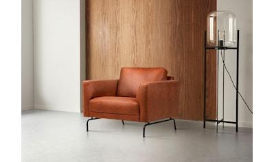 Places of Style Sessel »Greeley«, mit schwarzen Metallfüßen kaufen