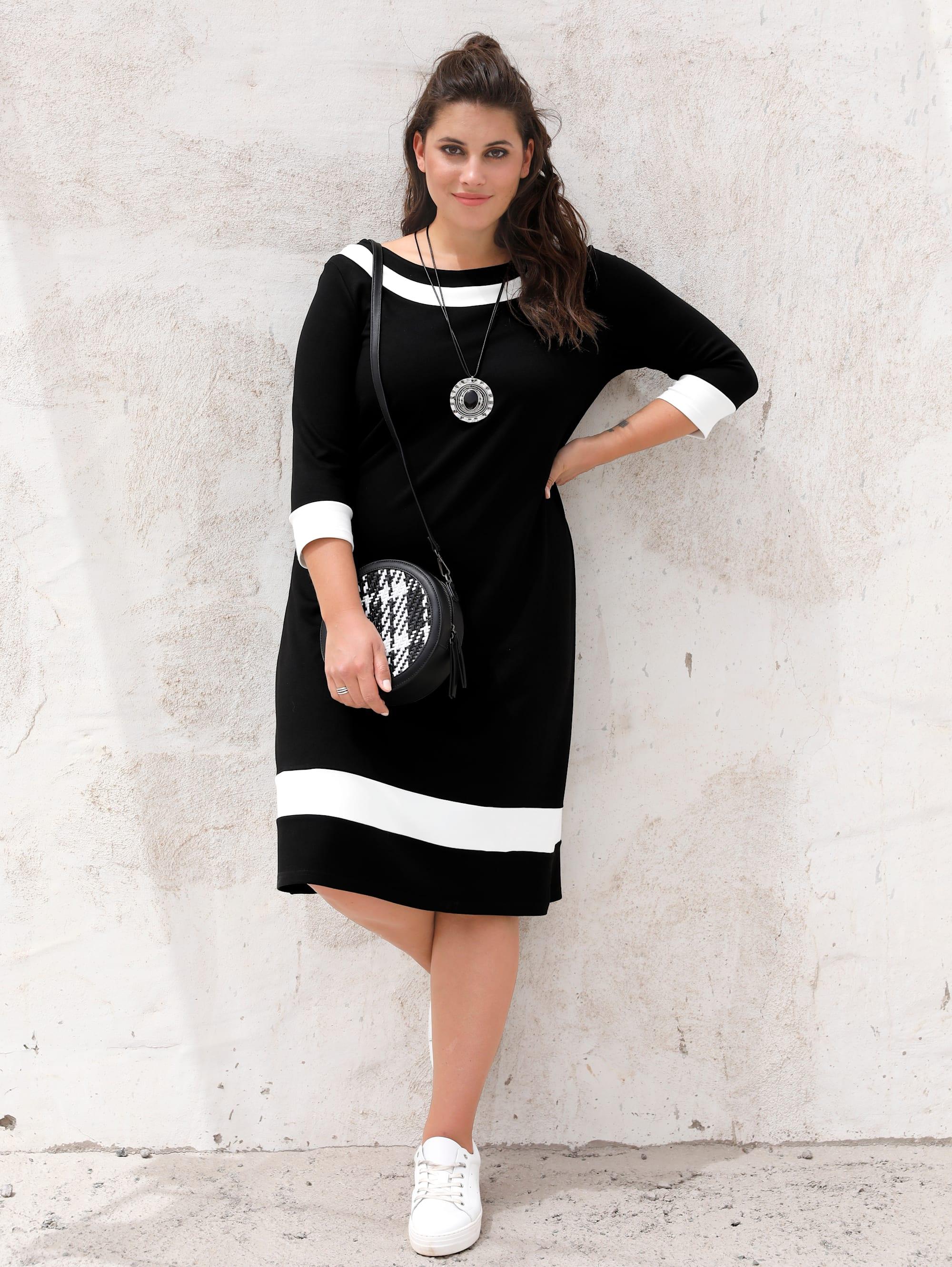 miamoda -  Sommerkleid, mit femininem Ausschnitt