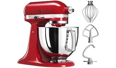 KitchenAid Küchenmaschine »Artisan 5KSM125EER«, 300 W, 4,8 l Schüssel, Empire Rot kaufen