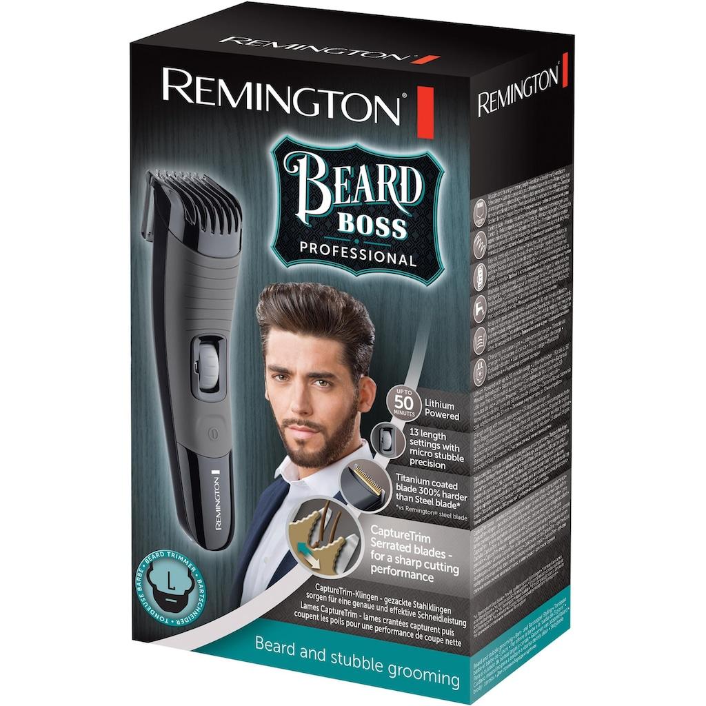 Remington Bartschneider »Beard Boss Professional MB4130«, 1 Aufsätze, Mikrostoppel-Präzisionseinstellungen