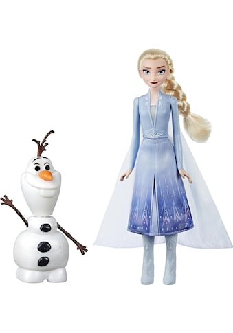 Hasbro Anziehpuppe »Die Eiskönigin II, Magischer Spielspaß mit Elsa & Olaf«, interaktiv kaufen