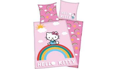 Hello Kitty Kinderbettwäsche »Hello Kitty«, mit tollem Hello Kitty Motiv kaufen