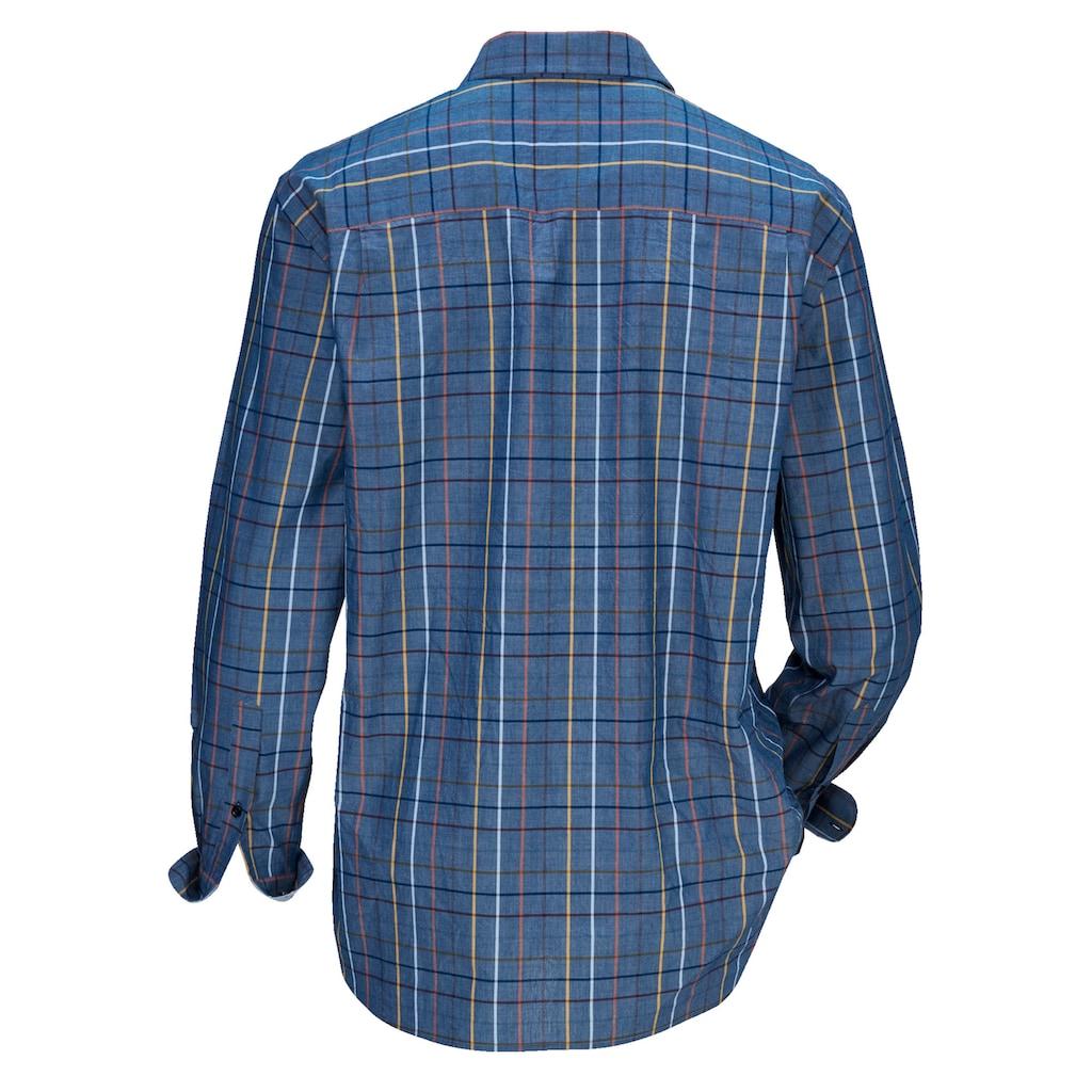 Babista Langarmhemd, aus reiner Baumwolle
