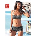 Venice Beach Bandeau-Bikini-Top »Karibik«, mit coolem Alloverprint