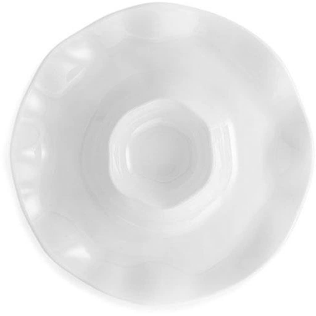 Q Squared NYC Servierplatte »Ruffle«, 40 cm
