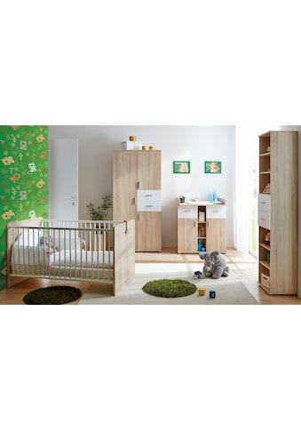 Ticaa Babyzimmer-Komplettset »Nico«, (Set, 3 tlg.), Bett + Wickelkommode + Schrank kaufen