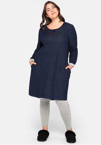 Sheego Sweatkleid, mit zwei Eingrifftaschen kaufen