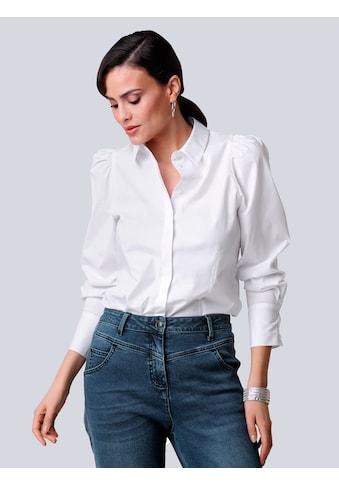 Alba Moda Hemdbluse, mit Puffärmeln kaufen