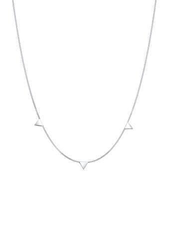 Elli Collierkettchen »mit Dreieck im Geo Design 925 Silber« kaufen