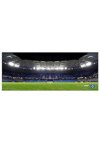 Wall-Art Wandbild »HSV Arena Nacht - Panorama«, 100/40 cm kaufen