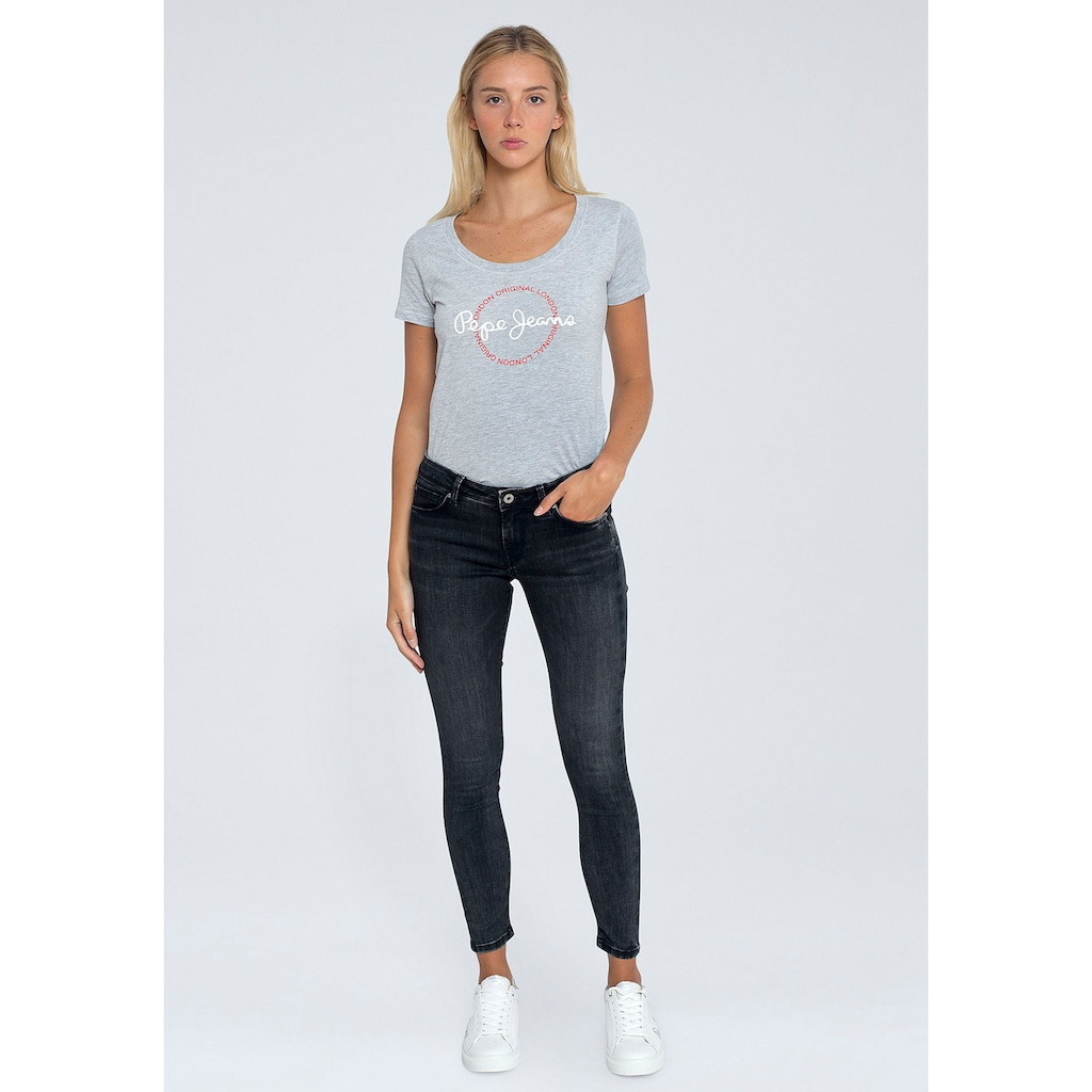 Pepe Jeans Skinny-fit-Jeans »LOLA«, mit normaler Leibhöhe und Stretch-Anteil