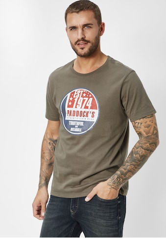 Paddock's T - Shirt mit Print kaufen