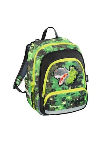 """BAGGYMAX Speedy Schulrucksack """"Green Dino"""" Tornister kaufen"""