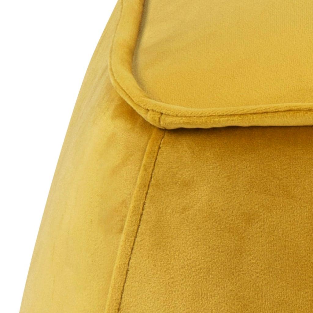 andas Pouf »Kjell«, in zwei verschiedenen Bezugsqualitäten erhältlich, Gesamtmaße (B/T/H) ca. 40/40/40 cm, in verschiedenen Farbvarianten