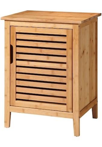 welltime Unterschrank »Bambus«, Breite 50 cm, aus natürlichem Bambus gefertigt, stabil, solide und umweltfreundlich kaufen