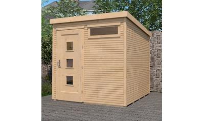 WEKA Gartenhaus »Komfort Gr.1«, BxT: 248x253 cm kaufen