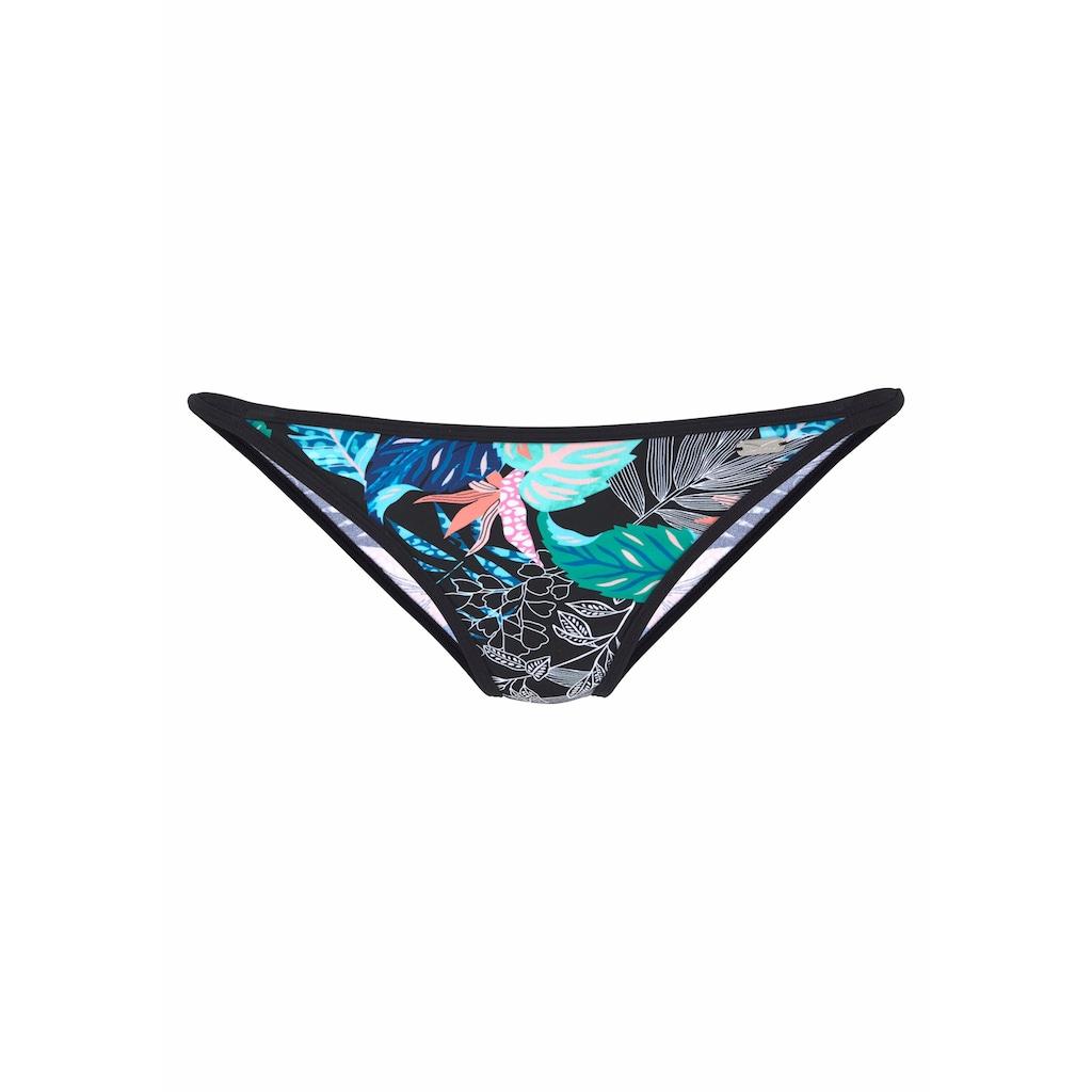 Venice Beach Bikini-Hose »Smash«, mit unifarbener Einfassung
