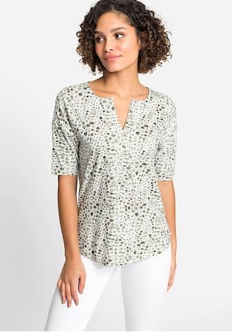 Olsen Rundhalsshirt, mit Kieselsteinprint kaufen