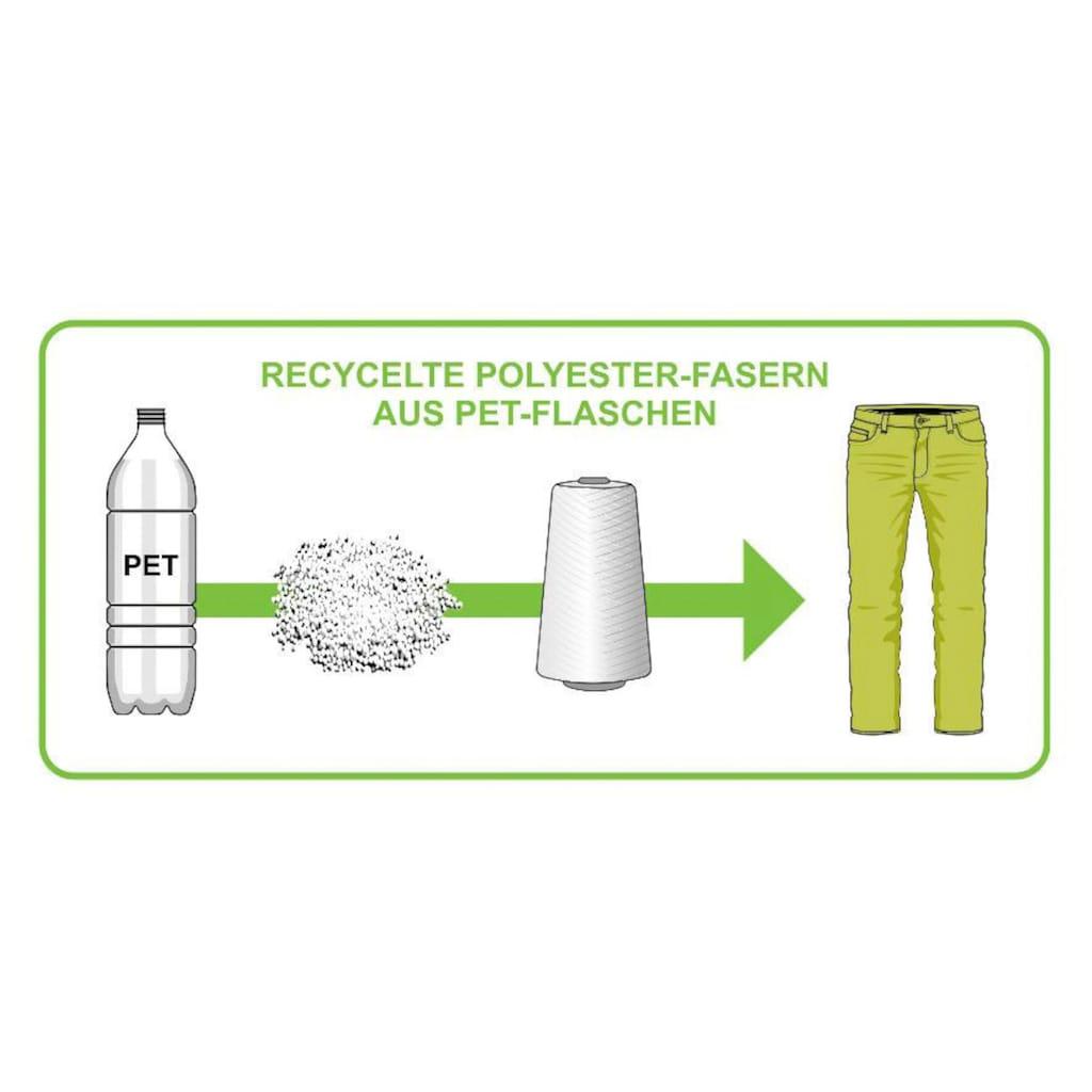 Arizona Jeansjeggings, mit recyceltem Polyester