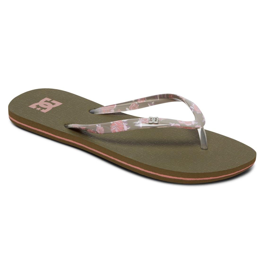 DC Shoes Sandale Spray SE grün Flats Sandalen Schuhe Unisex