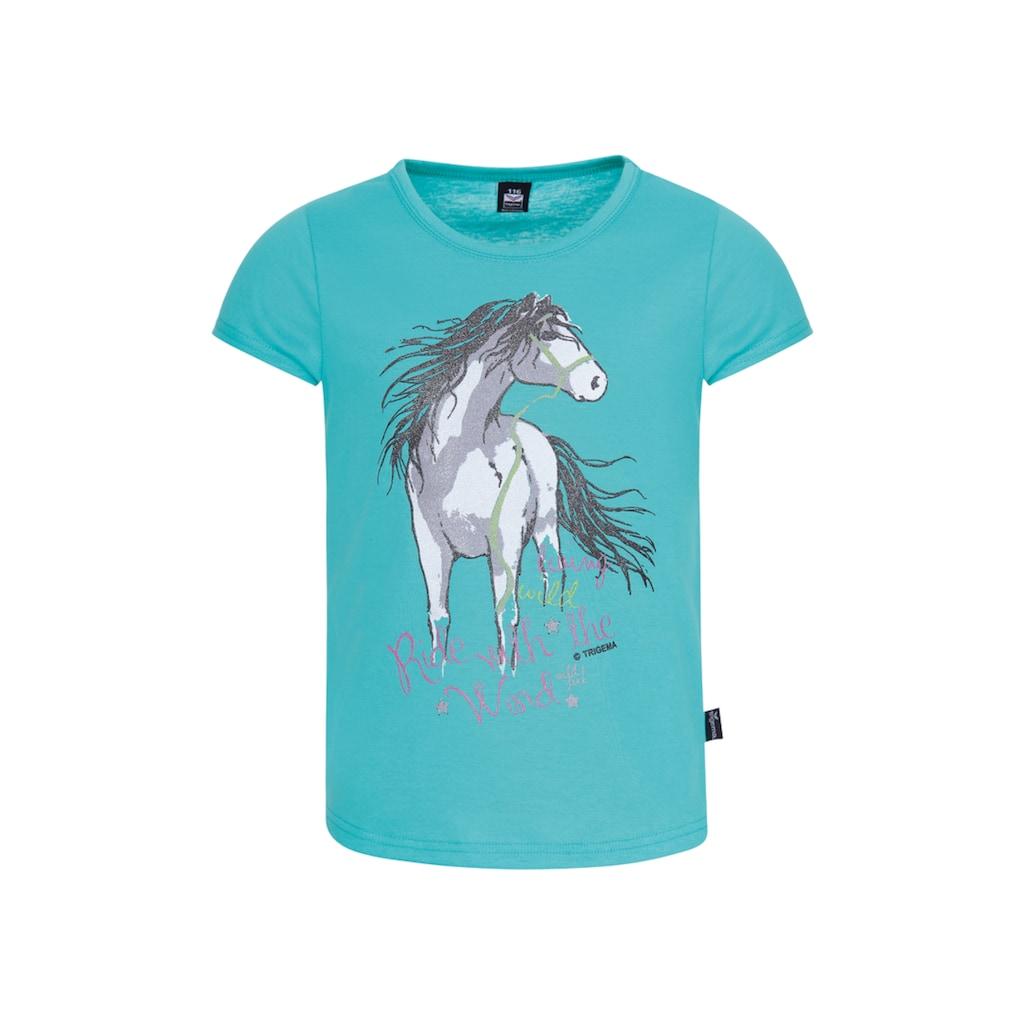 Trigema T-Shirt mit Pferd