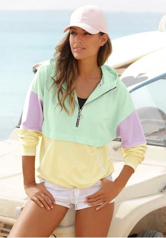 Bench. Kapuzensweatshirt, in Color-Block-Optik kaufen