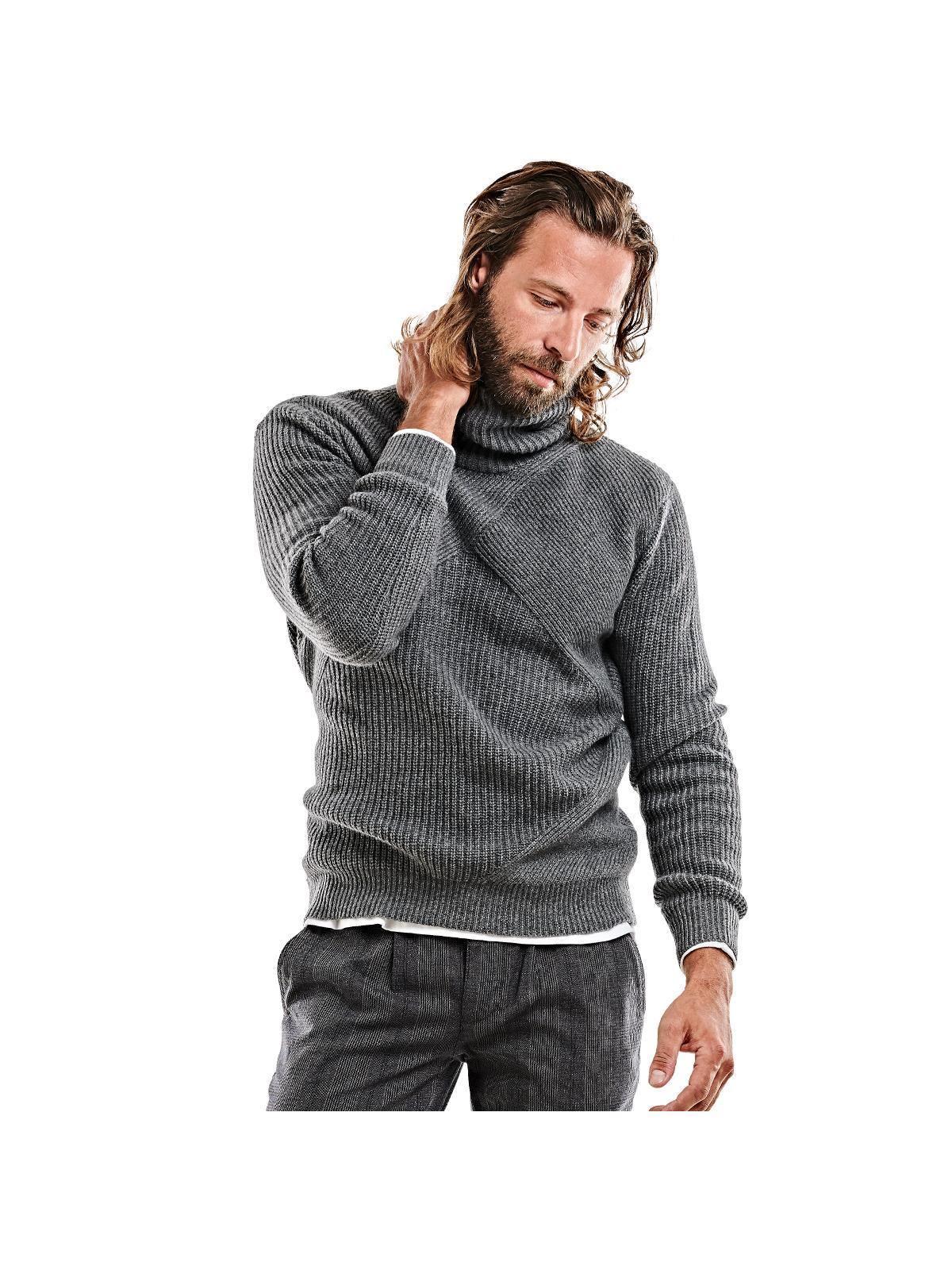 emilio adani Troyer-Pullover | Bekleidung > Pullover > Sonstige Pullover | Grau | Polyamid | EMILIO ADANI