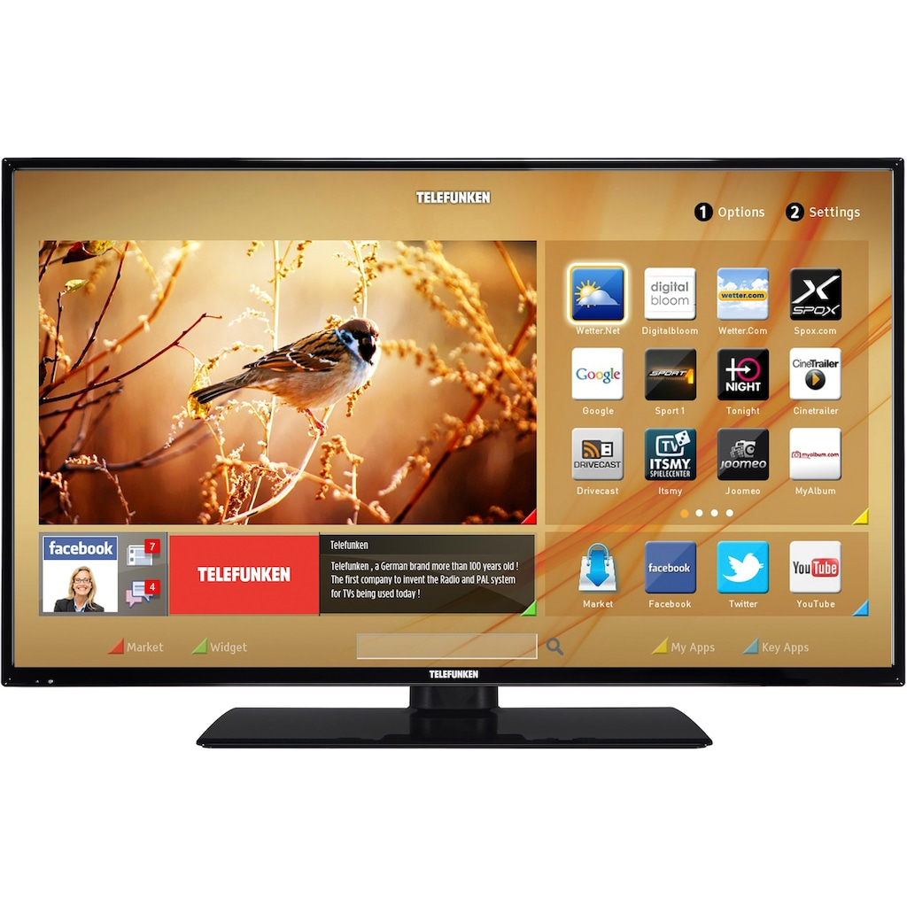 Telefunken D32H287M4CWI LED-Fernseher (80 cm / (32 Zoll), HD ready