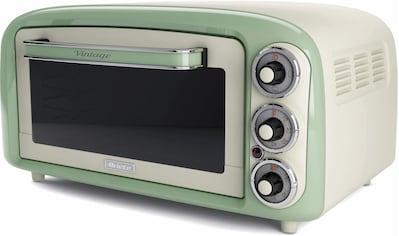 Ariete Minibackofen »Vintage 979 grün«, Oberhitze-Unterhitze, 1380 W kaufen