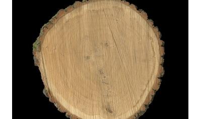 Architects Paper Fototapete »Oak Slice«, Baumscheibe, Vlies, glatt kaufen