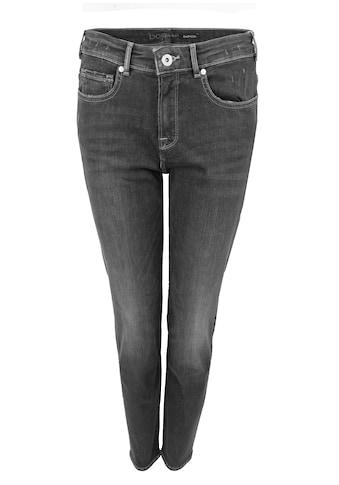 bianca 5-Pocket-Jeans »SHAPE«, im coolen Grau mit leichten Used-Effekt kaufen
