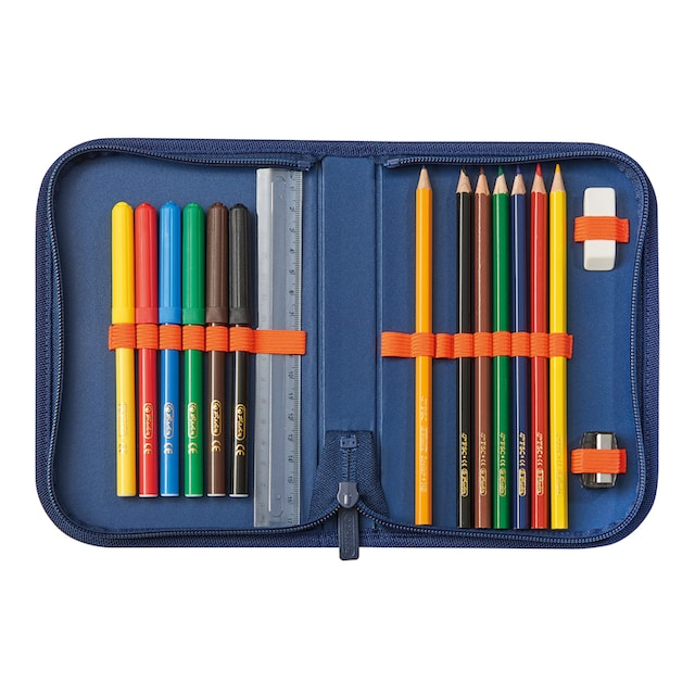Herlitz Schulranzen »UltraLight Plus Geometric« (Set, 6 tlg.)