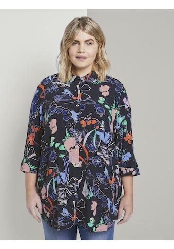TOM TAILOR MY TRUE ME Klassische Bluse »Gemusterte Tunika - Bluse« kaufen