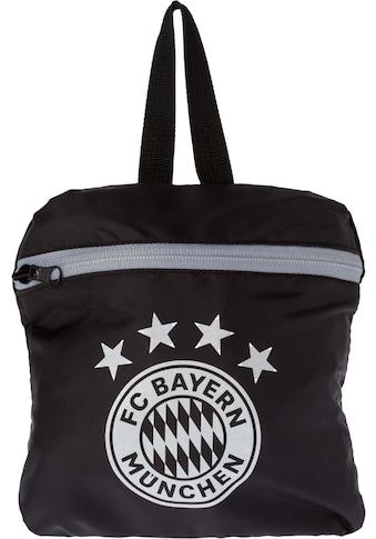 FC Bayern Freizeitrucksack, faltbar kaufen