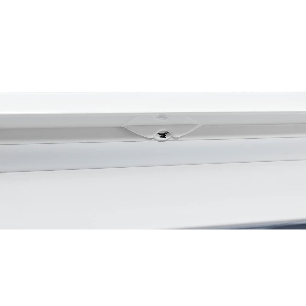 exquisit Gefrierschrank »GS81-040D weiss«, 85 cm hoch, 55 cm breit